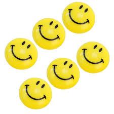 online shop 6pcs lot round shape cartoon smile face design