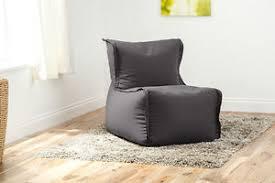 grey wool feel modular sectional bean bag sofa zip together seat