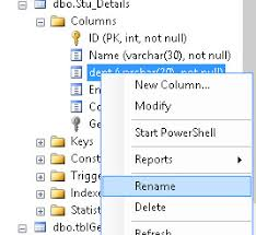 Sql Server Alter Table Change Column Name Rename Column Sql Server 2008 Stack Overflow