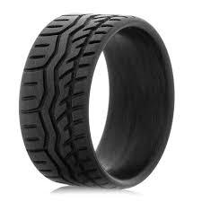 carbon wedding band carbon fiber drift tire wedding band titanium buzz