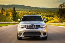 jeep hawk track 2018 jeep grand cherokee trackhawk first drive review automobile