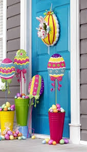Easter Decorations And Recipes by Best 25 Outdoor Easter Decorations Ideas On Pinterest Happy