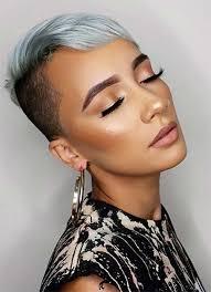 can older women wear an undercut 100 short hairstyles for women pixie bob undercut hair fashionisers
