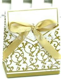 gold favor bags cake bags wedding cake bags and boxes personalized wedding cake