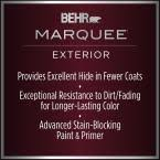 behr marquee 1 gal n520 5 iron mountain flat exterior paint