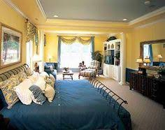 Blue And Yellow Bedroom by Love The Blue U0026 Yellow Bedroom Design Pictures Remodel