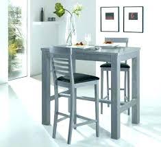 table de cuisine haute avec tabouret table bar cuisine avec rangement table haute de cuisine avec