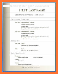resume templates pdf epic free sle resume format for freshers for your 9