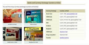 bureau de change malaysia malaysia budget travel guide budget itinerary and accomm