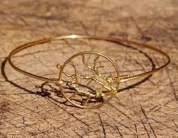 best life bracelet images Gold wire bracelet a tree of life bracelet wire bracelet jewelry jpg