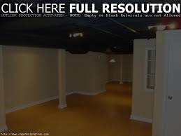 unfinished basement ceiling basement ideas