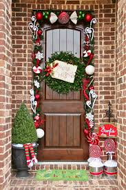 Home Decor For Christmas 30 Christmas Door Decorating Ideas Best Decorations For Your