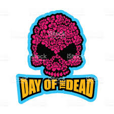 is halloween a national holiday skull of flowers for day of the dead skeleton head for national