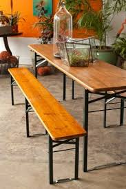 german beer garden table and bench vintage biergarten beer garden table gardenista outdoor