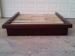 Platform Bed With Headboard Platform Bed Without Headboard With Shelves Platform Bed Without