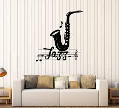 vinyl wall decal jazz music musical room decoration stickers mural vinyl wall decal jazz music musical room decoration stickers mural 470ig