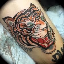 snake tiger tattoo flying tiger tattoo