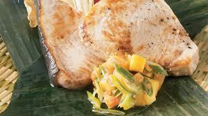 cuisine espadon espadon à saveur exotique recettes cuisine et nutrition
