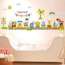 stickers arbre chambre enfant diy dessin animé mignon wall sticker arbre