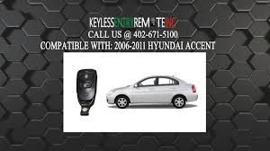 2001 hyundai accent battery how to replace hyundai accent key fob battery 2006 2007 2008 2009