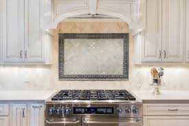 White Kitchen Backsplashes Home Design Astonishing Backsplash Behind Stove With White