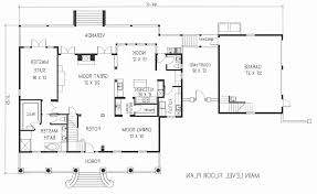 detached garage floor plans best of 4 bedroom house plans detached garage house plan