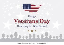 happy veterans day greeting card usa stock vector 736363153