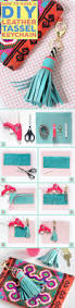 How Best 25 Tassel Keychain Ideas On Pinterest Bookmarks How To