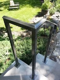 Exterior Stair Handrail Kits Emejing Exterior Step Railing Photos Interior Design Ideas
