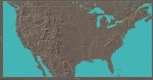 map us landforms basemaps atlases of the u s beyond nau dr lew