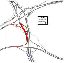 Fort Worth Texas Map I 35w Traffic Switches To Affect Downtown Drivers City Of Fort