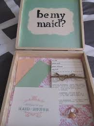 asking bridesmaids ideas diy bridesmaid boxes just a trace