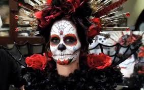 day of the dead diy sugar skull halloween look with rick baker