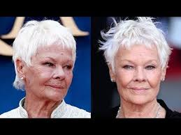 judi dench hairstyle front and back of head judi dench hairstyles for older women over 50 youtube