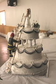 fireman wedding cake toppers fireman wedding cake firemen wedding cake and cake