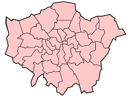 Ontario Blank Map by Map Of London With Boroughs You Can See A Map Of Many Places On