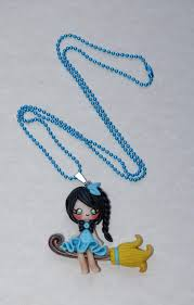 polymer clay halloween pendants and necklaces ideas