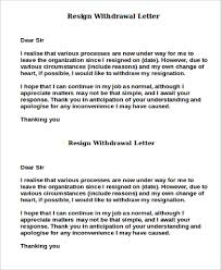 resign letter sample 7 examples in word pdf