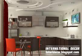 Drop Ceiling Styles gibson board false ceiling design for kitchen interior with modern