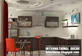 kitchen ceiling design ideas gibson board false ceiling design for kitchen interior with modern