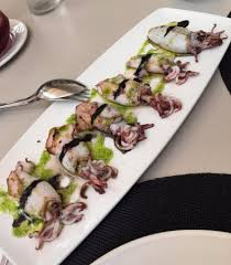 cuisine à la plancha octopus a la plancha as a starter picture of casa carmela