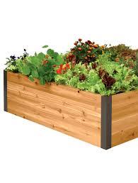 Raised Bed Gardens Ideas Galvanized Metal Elevated Raised Garden Bed 23 X 45 Gardeners Com