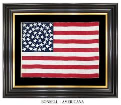 Us Flag 1860 Bonsell Americana An Antique Flag Company All Offerings