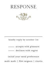 response cards for wedding wedding rsvp cards match your color style free basic invite