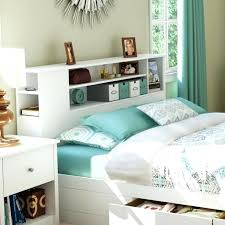 Bookcase Headboard Queen Bed Queen Bed With Drawers And Bookcase Headboard Full Mates U2013 Geebee