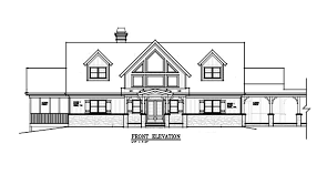 lodge house plans 3 story 5 bedroom house plan with detatched garage