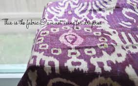Purple Ikat Curtains Simplify And The Art Of Letting Go Jamie House Design