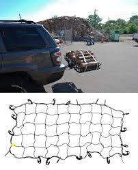Luggage Rack For Honda Odyssey by Tie Down Stretch Net With Large Hooks That Are Easy To Handle And