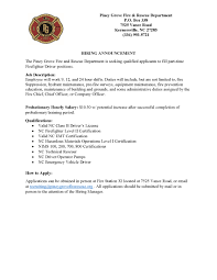employment and internship opportunites fire and safety eastern