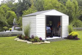 Lifetime Products Gable Storage Shed 6402 by Amazon Com Storboss Milford Vm Vinyl Storage Shed 10 By 12 Feet